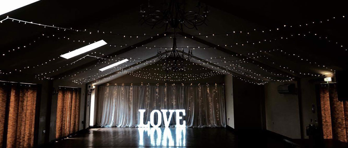 Fairy lights for hire norfolk weddings